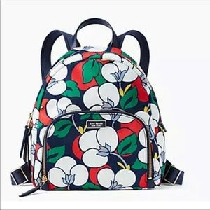 kate spade dawn breezy floral backpack